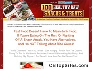 100 Healthy Raw Snacks And Treats - Low calorie snacks that taste great. Natural - Sugar Free - No Cook - Living Nutrition for Living Bodies.