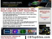 HD Video Backgrounds and Sound Loops