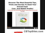 A Cook's Book Food Cost: Food Course Management Course