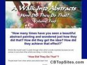 A Walk Into Abstracts: abstract painting techniques and guide