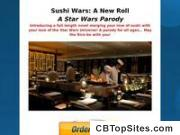 Sushi Wars: A New Roll - A Star Wars Parody - 75% Commisions