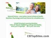 Online, Interactive Natural Health, Nutrition And Wellness Course
