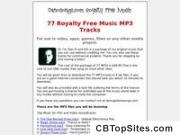 77 Royalty Free Music MP3 Tracks