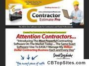 Contractor Estimate Pro Software
