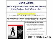 Guns Galore! Buy And Sell In Online Auctions - Even Guns!
