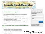 Learn Malayalam Audio And Text