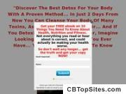 The Best Detox Cleanse Guaranteed To Work - 75% Comm For Affiliates!