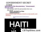 Government Secret Code