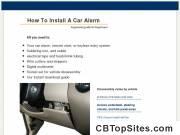 How To Install A Car Alarm — Step By Step Guide To Car Security & Remote Start