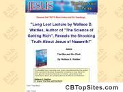 Jesus: The Man and His Work by Wallace D. Wattles