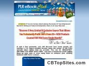 PLR eBook Club - 11500+ Private Label Rights eBooks, Articles, Products, Resell Rights