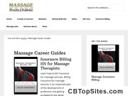 Massage Career Guides -Help for every stage of your career in massage.