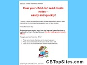 Read Music Notes, How to Read Music Notes for Beginners, Children