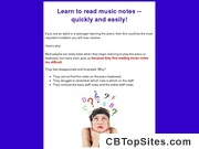 Read Music Notes, How to Read Music Notes for Adults, for Adult Beginners