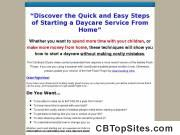 Opening a Home Daycare - How to Start a Daycare From Home