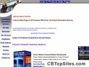 Links to Products Sales Pages - 1st Analyst Information Services