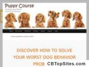 Puppycourse.com - Cash In Now With The Dog And Puppy Training Niche