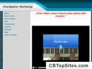 """Free video: Learn how to play piano with chords."" 