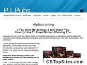 Alpha Training - Powerful Male Dating Secrets