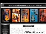 Guitar Lessons Guided By Guitar-howtoplay.com