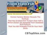 Profit From PLR From John Thornhill