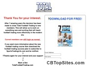 Total Football Trading | Betfair Football Trading Strategies & Systems