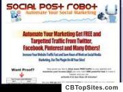 Social Post Robot - Wordpress Social Marketing Plugin