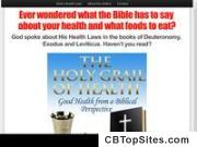 A guide to Gods health laws and food laws from the Bible.