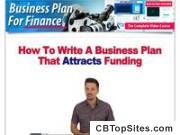 Business Plan For Finance