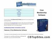 Club Membership Software - Free Download - Club Membership System