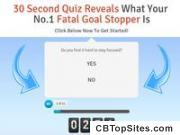 30 Second Quiz Reveals What Your No.1 Fatal Goal Stopper Is