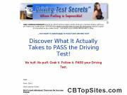 Driving Test Secrets UK - The UK Practical Driving Test Help, Tips, Techniques and Secrets
