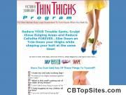 The Celebrity Thin Thighs Program - $96.75 Commissions!