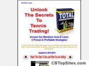 Total Tennis Trading | Betfair Tennis Trading Systems