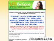 UTI-Be-Gone - 100% Natural Urinary Tract Infection Cure