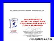 Windshield Repair Marketing Book
