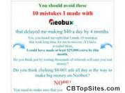 10 Mistakes I Made With Neobux You Should Avoid