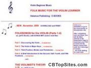 Folksongs For The Violin And The Violinist's Theory Notebook