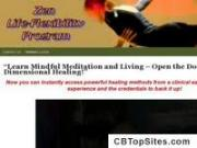 """Learn Mindful Meditation and Living-Multi-Dimensional Healing!"" - simplezenguy.com"