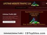 Lifetime Website Traffic Only $20 - Lifetime Traffic Package