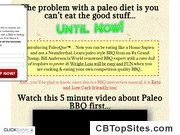 PaleoQue - Competition Quality Paleo BBQ for the Paleo Diet