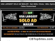 2018 USA Largest Solo Ad Mailer - 4000+ CLICKS - 800+ OPTINS - SALES GUARANTEED!