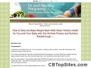 The Fit And Healthy Pregnancy Guide