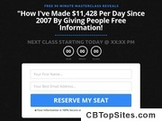 [FREE MASTERCLASS] : How To Get Paid To Give People Free Information
