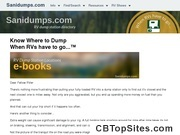 Sanidump's Comprehensive Guides to RV Dump Stations and Dump Points