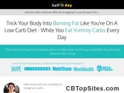 Burn fat with low carb
