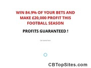 £20,000 Football Profits Guaranteed!