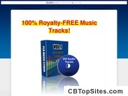 PLR Music - 500 Royalty Free Music Audio Tracks Songs