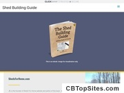 Shed Building Guide – The Must Have Shed Building Guide