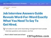 + Job Interview Questions & Answers Guide